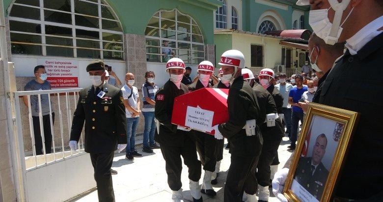 Kalp krizi geçirerek vefat eden asker toprağa verildi