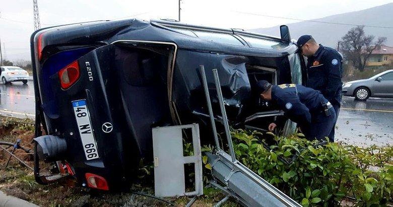 Muğla'da kaza: 1 yaralı