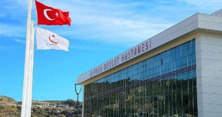 Foça Devlet Hastanesi yeni binasında