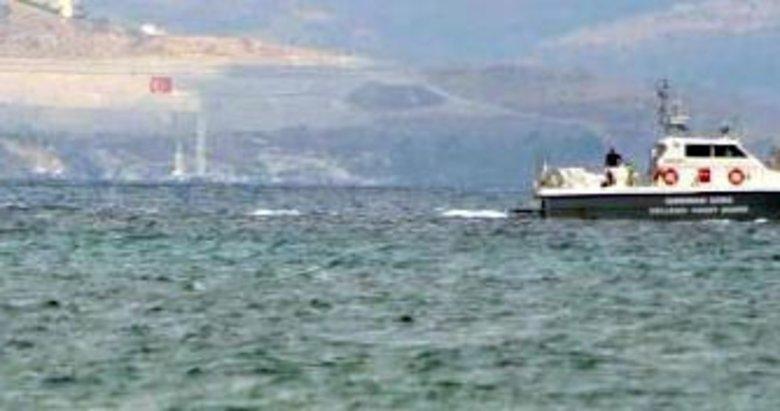Ege'de kaçak taşıyan tekneye ateş açıldı!