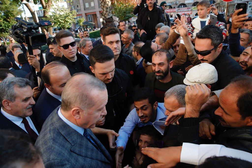 Başkan Erdoğan'a Şanlıurfa'da sevgi seli! Şehit Muhammed bebeğin ailesiyle görüştü