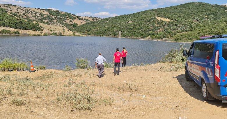 İzmir'de acı olay! Serinlemek için gölete giren gençlerden birisi boğuldu