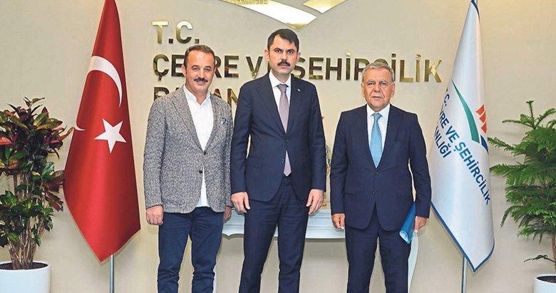 Şengül ve Kocaoğlu'dan Ankara çıkarması