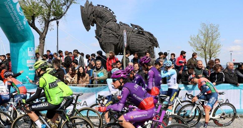 55. Cumhurbaşkanlığı Türkiye Bisiklet Turu 3. etabı Çanakkale'den başladı