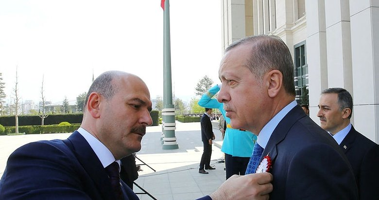 Cumhurbaşkanı Erdoğan polisleri kabul etti