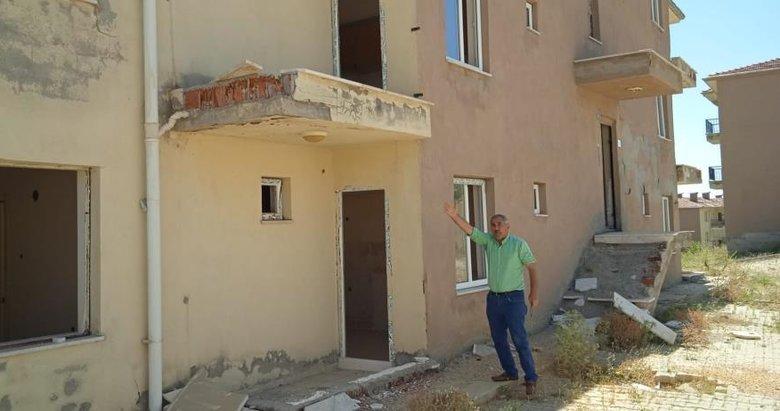 Deprem konutlarında ne var ne yok çaldılar geride boş duvarları bıraktılar