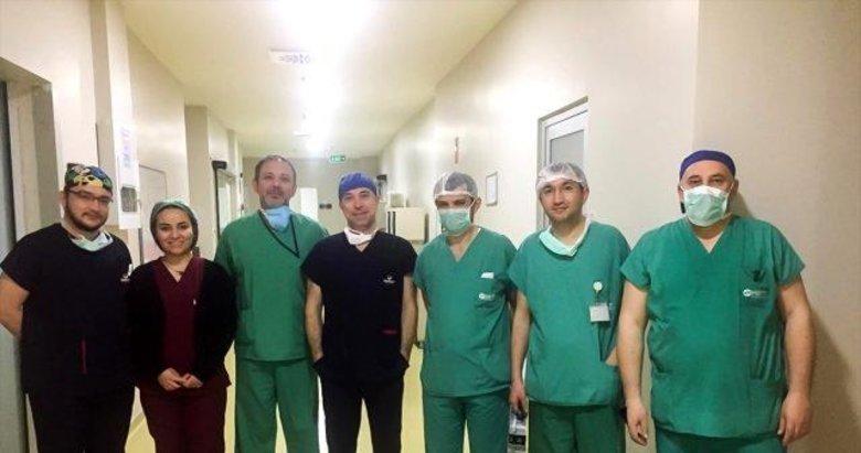 Denizli'de beyin ölümü gerçekleşen kişinin organları hastalara umut oldu