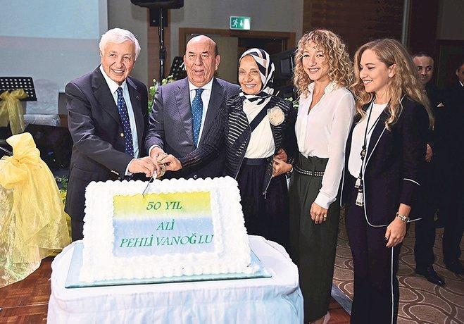 Ali Pehlivanoğlu 50. yılını kutladı