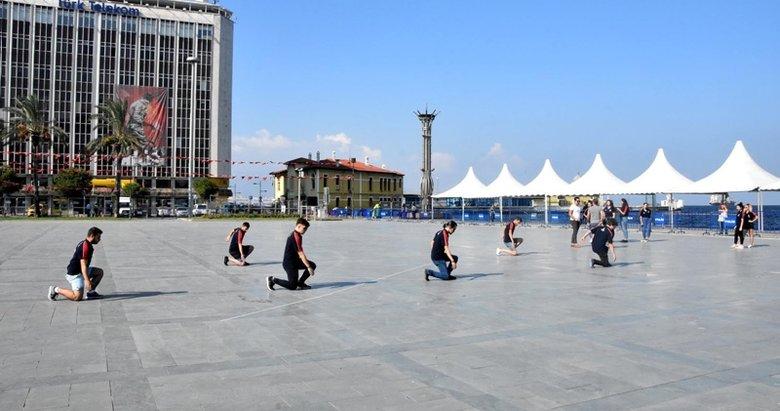 İzmir kurtuluş kutlamalarına hazırlanıyor