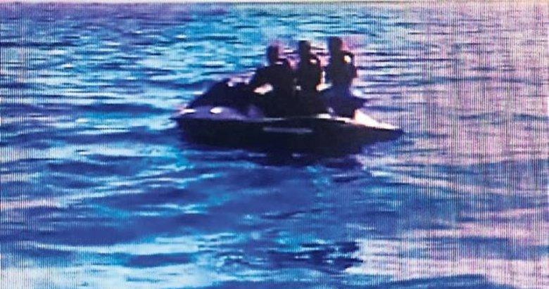 3 eski asker jet ski ile Sakız'a kaçmaya çalıştı