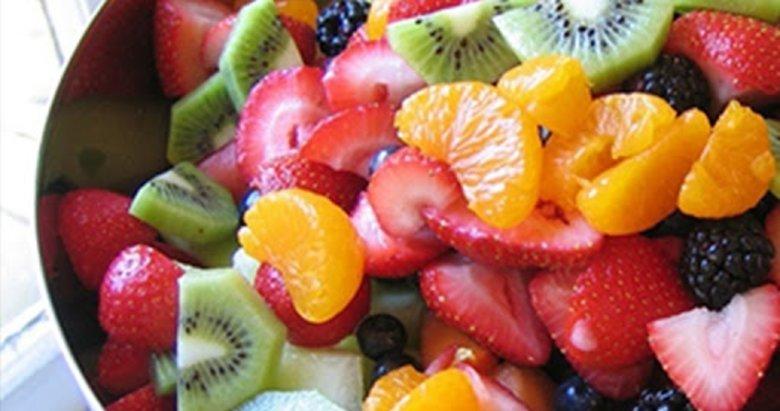 Kilo verirken meyve tüketimine dikkat!