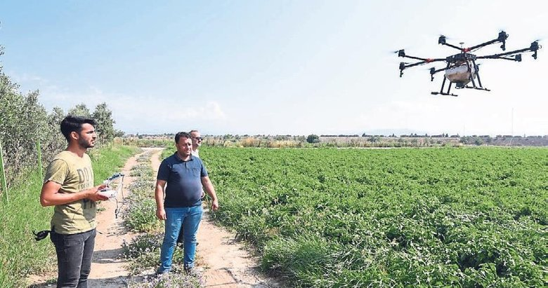 Tarımda drone ile ilaçlama dönemi