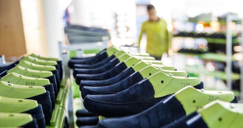 Ege'nin ayakkabı ihracatı yıla rekorla başladı