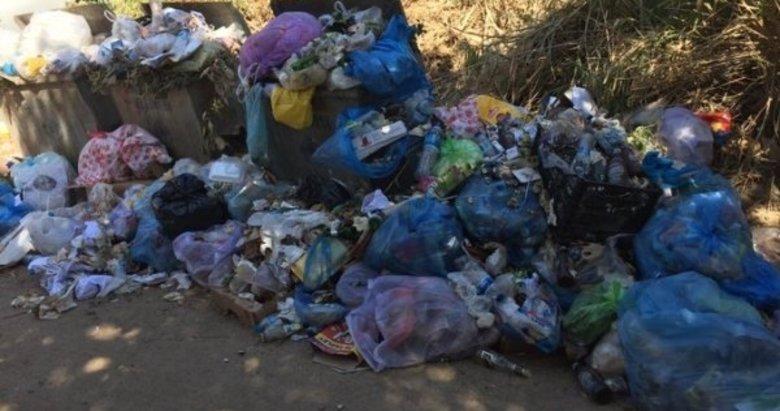 CHP'li Erdek Belediyesi'nden çöp rezaleti!