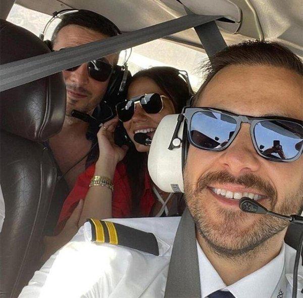 Ümit Erdim'in onunla uçmak istedi ama eşinden izin çıkmadı