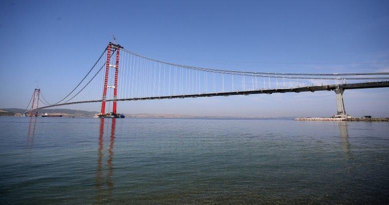 1915 Çanakkale Köprüsü'nde bir ilk yaşanacak! Geri sayım başladı