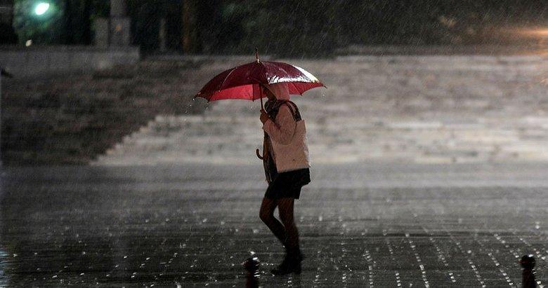 Meteorolojiden kuvvetli gök gürültülü sağanak uyarısı