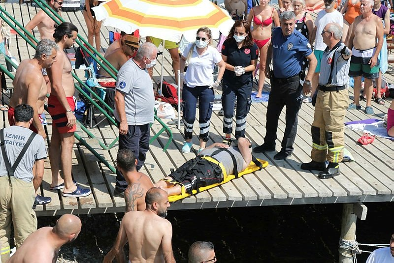 Akülü tekerlekli sandalyesi ile 30 metrelik uçuruma yuvarlanıp, yaralandı