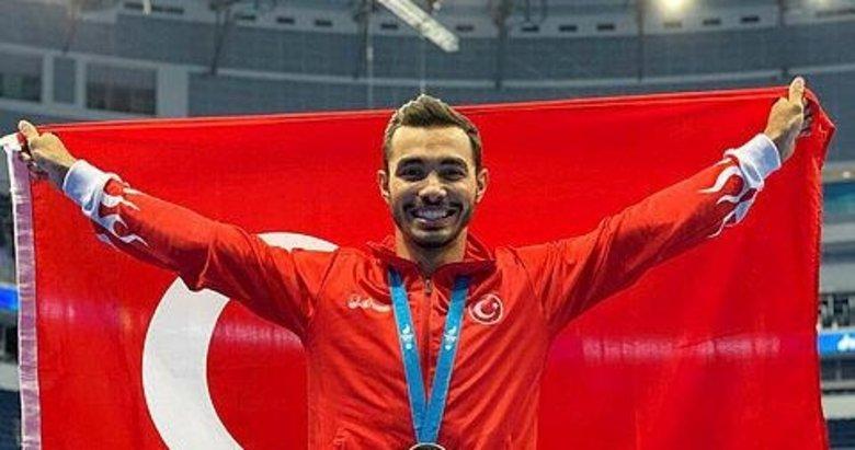 İzmirli jimnastikçi Ferhat Arıcan'dan tarihi başarı