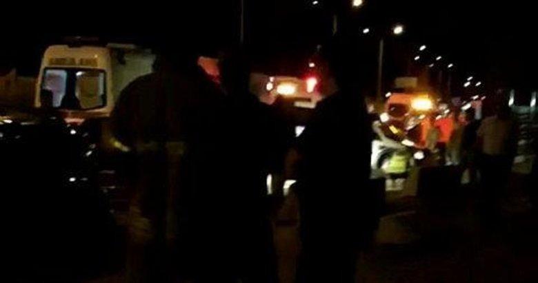 İzmir'de dehşet trafik kazası