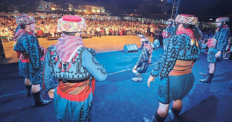 Festival ateşi yandı