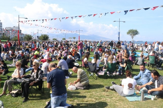 5. İzmir Boyoz Festivali'ne İzmirliler akın etti