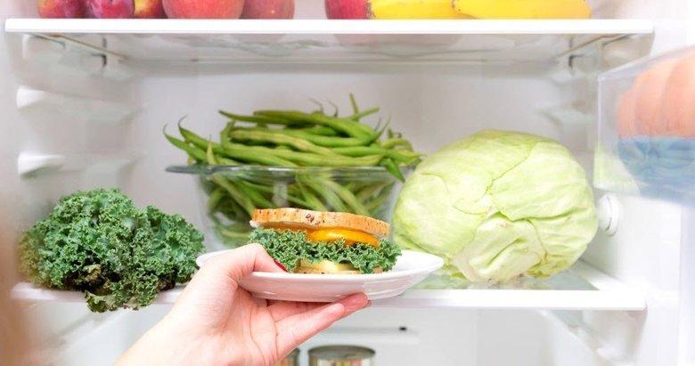 Buzdolabına konduğunda hastalık saçan besinler...