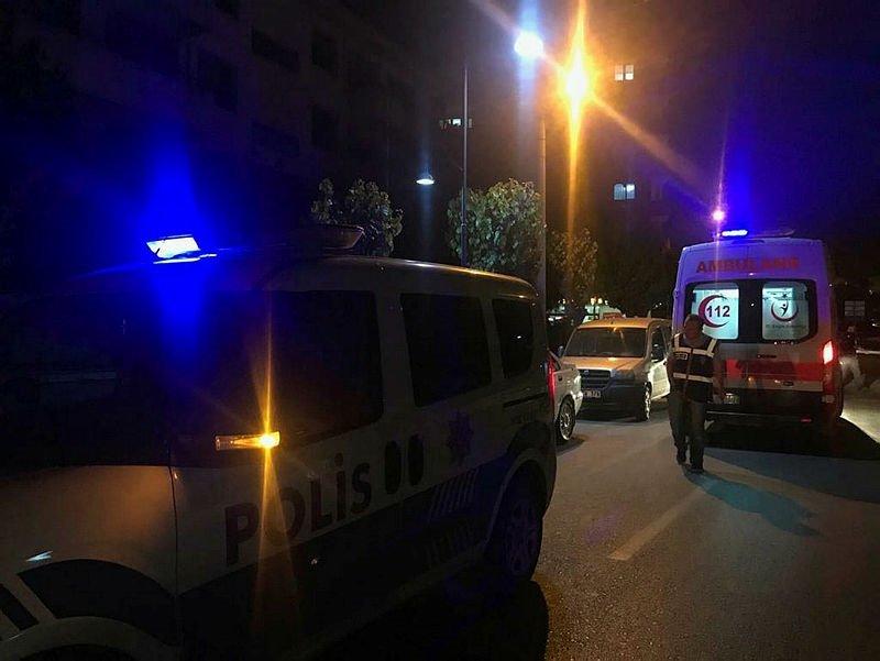 Manisa'da polisten kaçan şüpheli çocuk üçüncü kattan düştü