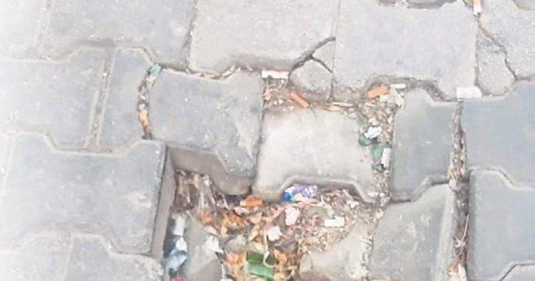 Bornova'da yollardaki çukurlar düzeltilmiyor