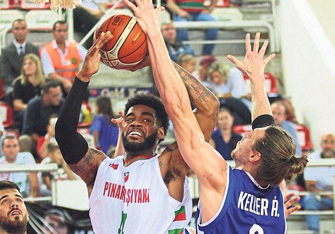 FIBA Şampiyonlar Ligi'ne Dinamo Sassari galibiyetiyle başlayan Pınar KSK 19.30'da Litvanya'dan Juventus Utena'yı ağırlayacak.