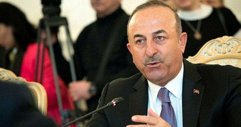 Dışişleri Bakanı Çavuşoğlu Rusyada