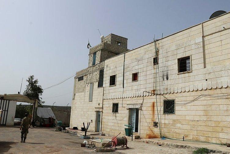 Afrin merkez hapishanesi görüntülendi