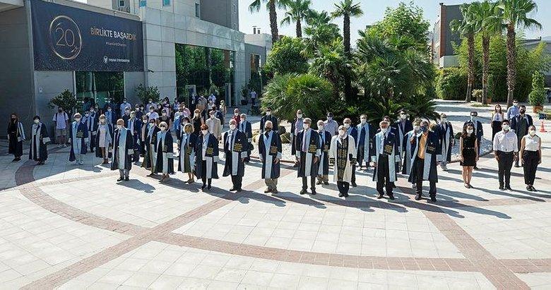 Yaşar Üniversitesinde 15 Temmuz Demokrasi ve Milli Birlik Günü anma etkinlikleri