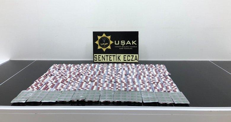 Uşak'ta uyuşturucu denetimleri: 6 gözaltı, 2 tutuklama