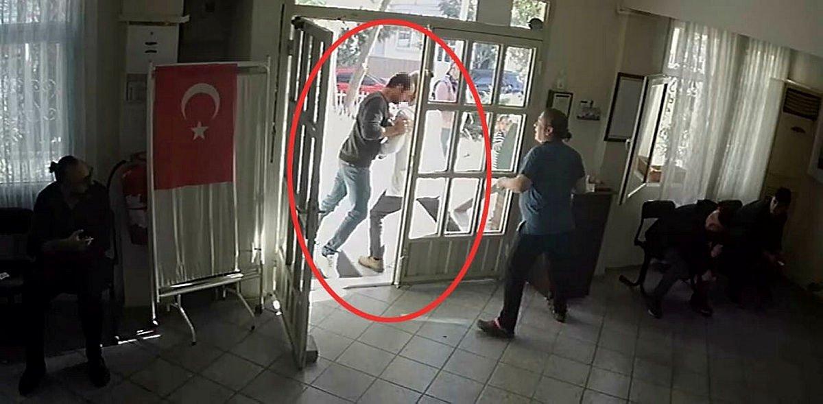 İzmir Gaziemir'de doktora şiddet! Sağlık raporu vermedi diye kafa attı