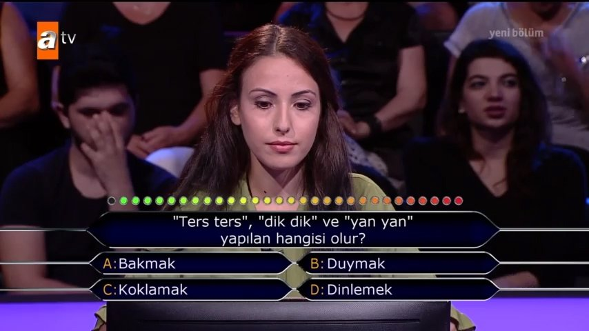 Kim Milyoner Olmak İster? 767. Bölüm tüm soru ve cevapları!