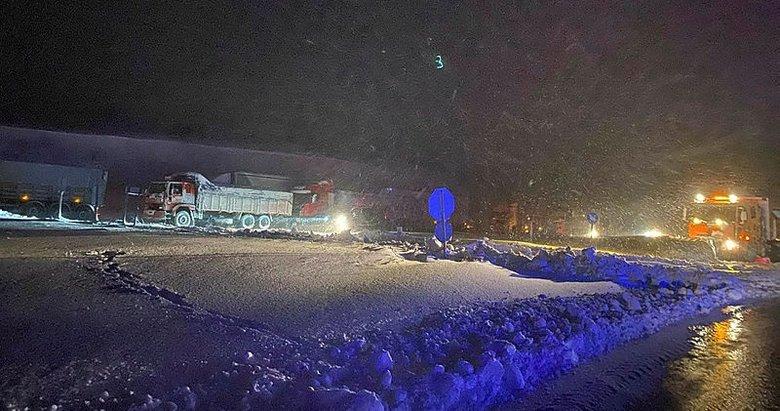 Balıkesir-Susurluk kara yolu taşıt geçişine kapatıldı