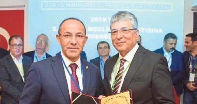 Urla Belediyesi de EMARÇEB'e katıldı