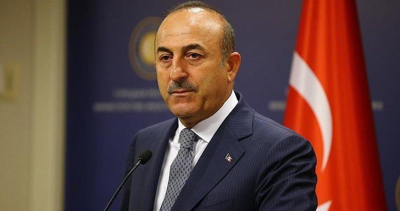 Bakan Çavuşoğlu'ndan Doğu Akdeniz mesajı: Tek hedefimiz hakkımızı savunmak