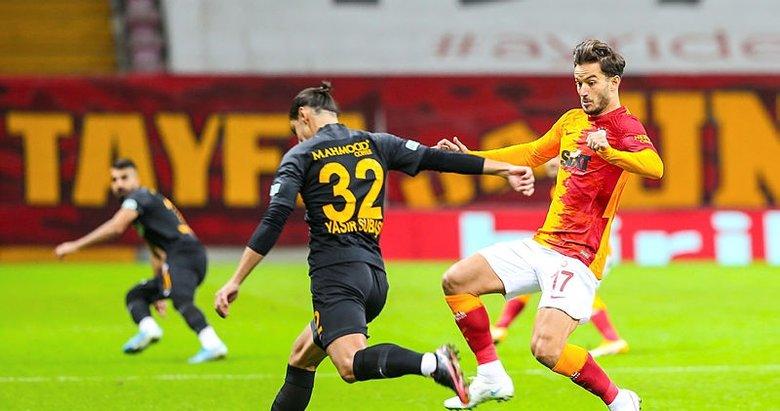 Galatasaray - Kayserispor: 1-1   MAÇ SONUCU