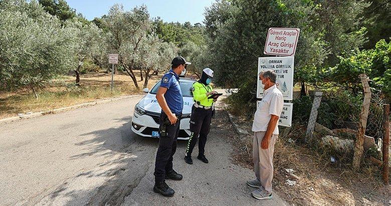 İzmir'de polis ekipleri denetimlerini sürdürüyor