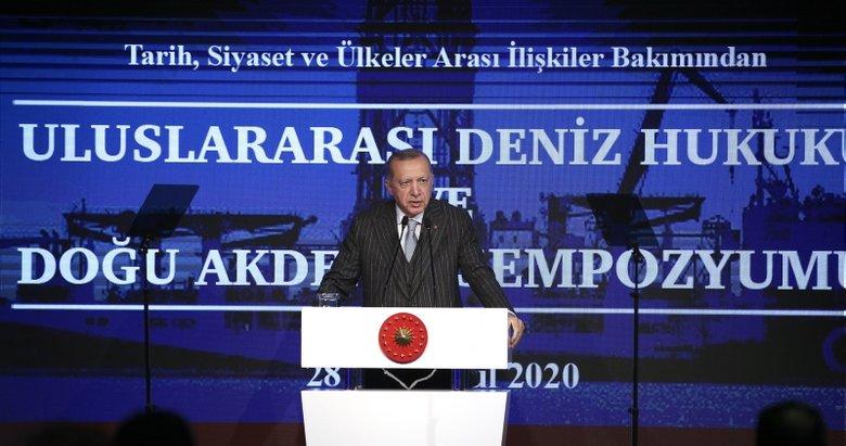 Son dakika: Başkan Erdoğan'dan Doğu Akdeniz Sempozyumu'nda önemli açıklamalar