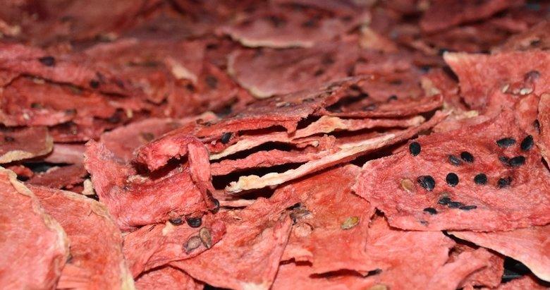 Afyonkarahisar'dan ABD ve Avrupa'ya cips formunda kavun karpuz ihracatı