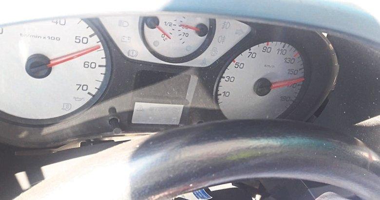 Hız kadranı 160'ta takılı kaldı