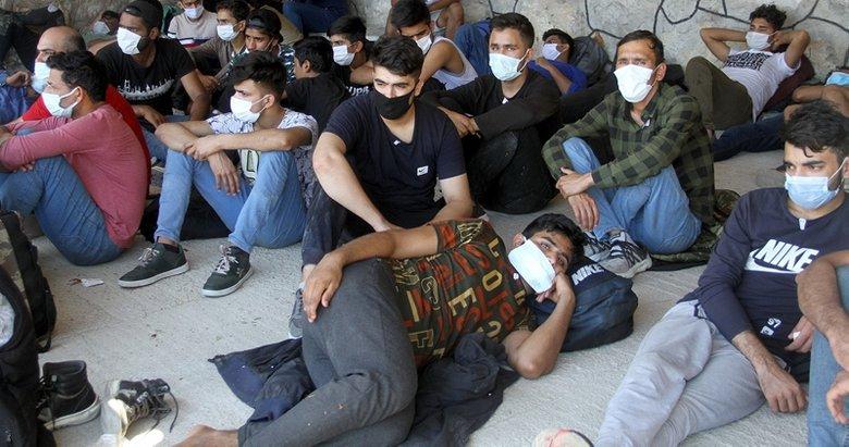 Fethiye'de 82 kaçak göçmen yakalandı