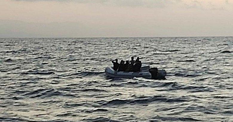 Bodrum açıklarında 39 kaçak göçmen kurtarıldı