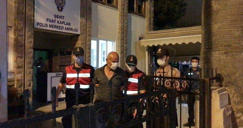 """Foça'daki """"emekli öğretmen"""" cinayetinin zanlısı Kuşadası'nda yakalandı"""