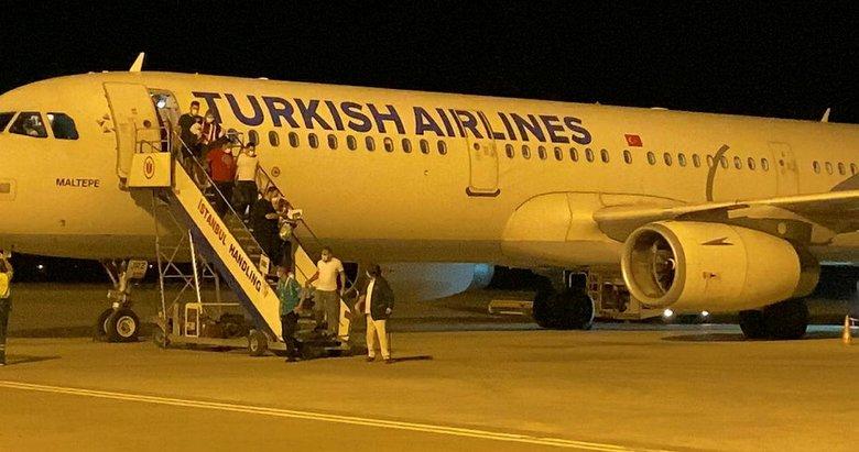 KKTC'ye 3 ay sonra ilk uçuş gerçekleştirildi