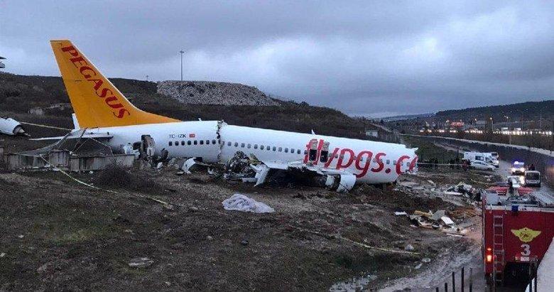 Pegasus kazasının raporu tamamlandı: Kaptan pilot kusurlu bulundu