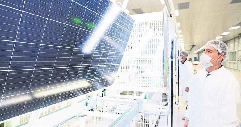 Yerli güneş hücre paneli üretiminde dev adım